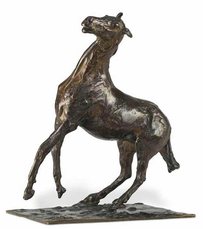 Cheval se cabrant could fetch up to $US1.5 million at auction. Photo: Christie's