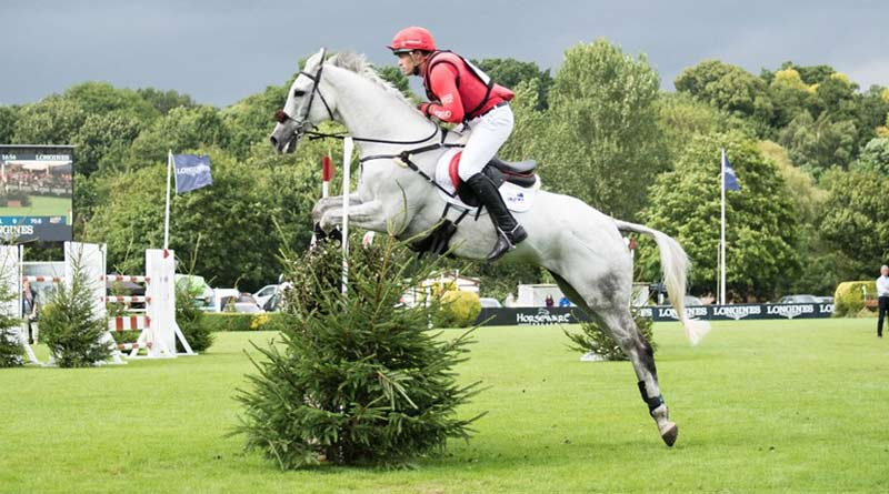 Paul Tapner and Bonza King of Rouges winning Hickstead's MS Amlin Eventers' Challenge on Thursday.
