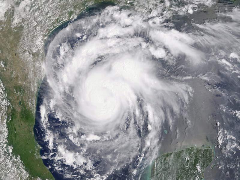 Hurricane Harvey.