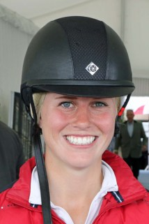 Savannah Fulton (USA), who ride Captain Jack.