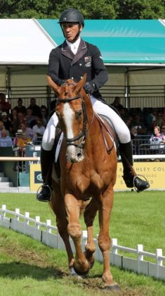 Andrew Nicholson and Nereo are well placed going into the cross-country phase of Burghley.