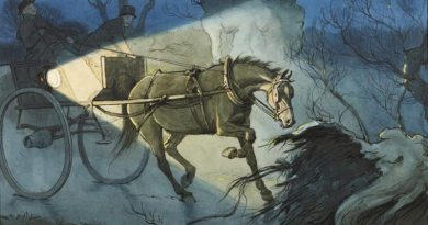 A Cecil Aldin watercolour from Black Beauty.