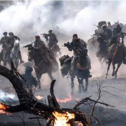 The Green Berets joined Northern Alliance fighters on horseback to take on the Taliban in Afghanistan.
