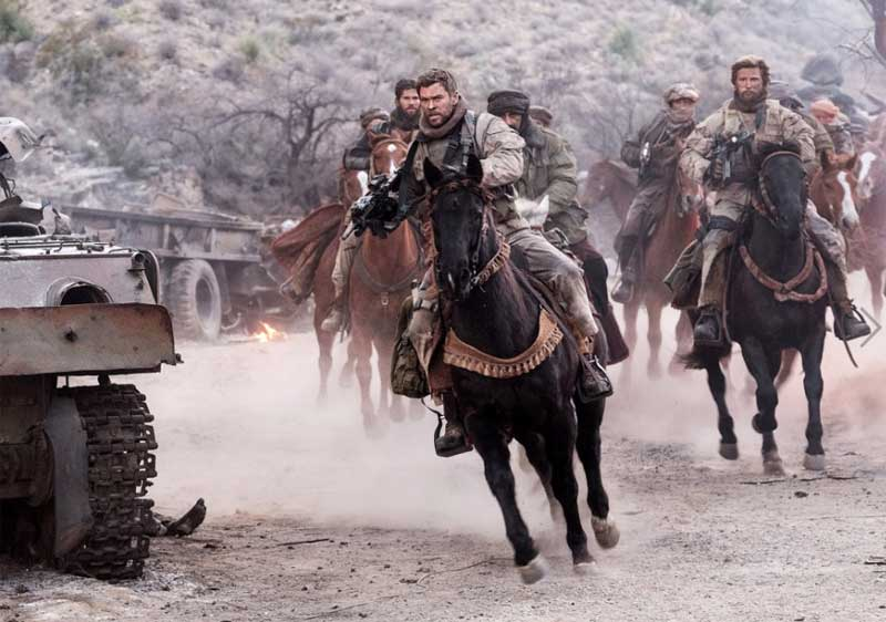 12 Strong is scheduled for American released on January 19.