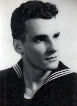 Dr Gene Lyons during his time in the Coast Guard.