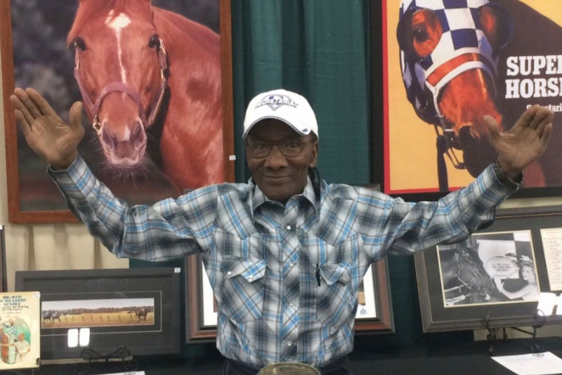 Secretariat's exercise rider Charlie Davis, 77, is undergoing treatment for lung cancer.