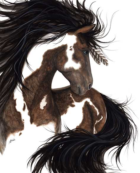 "Magaskawee (Lakota: ""graceful""), by AmyLyn Bihrle"