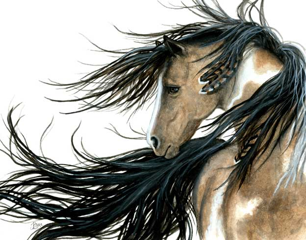 Majestic Spirit Horse, by AmyLyn Bihrle