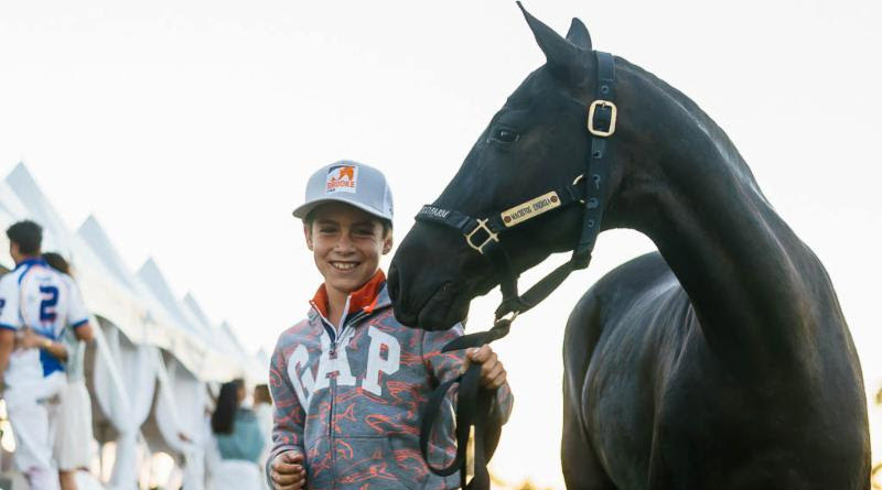 The Best Playing Pony award went to Taquara, who was piloted by 10-year-old Antonio Aguerre of Team Brooke USA.