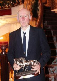 TommyWadewhen he was inducted into the Show Jumping Hall of Fame in 2013.