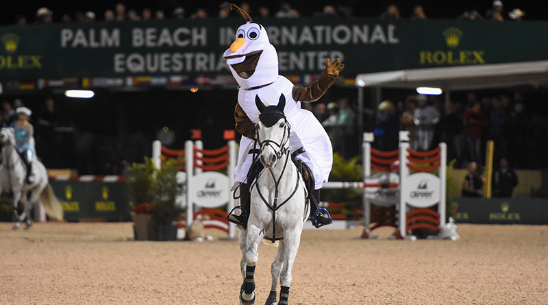 Great Charity Challenge competitors go all out to make a special show at the Winter Equestrian Festival in Florida.