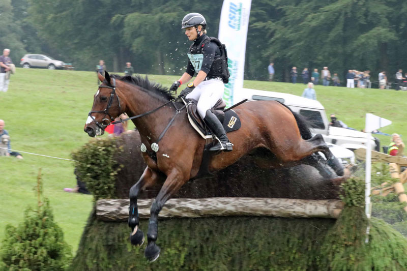 Julia Krajewski and Chipmunk FRH led from start to finish to take out the Bramham CCI3* Horse Trials.