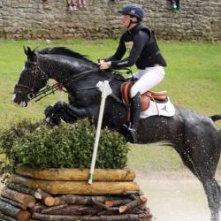 Sam Ecroyd was sixth on Cooley Currency in the under-25 CCI3* at Bramham. © Mike Bain