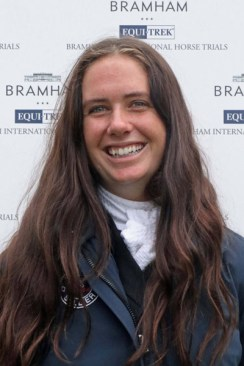 US rider Caroline Martin was second on Danger Mouse after the dressage in the under 25 CCI3*, finishing in 13th place overall.