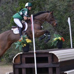 Clare Walker and Enchantez. © Walnut Farm Eventing