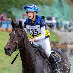 Anna Freskgård and Box Qutie on the cross-country at the World Equestrian Games in Tryon, North Carolina. © Roland Thunholm / Swedish Equestrian Federation
