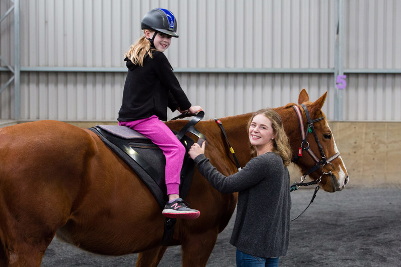 The streamlined design of the Contak saddle fosters visual connection with the horse, increases the opportunity for physical touch and reduces bulk under the rider's leg, improving stability and safety.