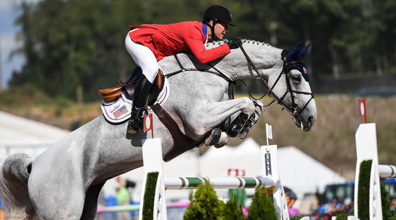 McLain Ward's fabulous final ride with Clinta captured the Team Jumping Championship for the USA at the FEI World Equestrian Games 2018 in Tryon.