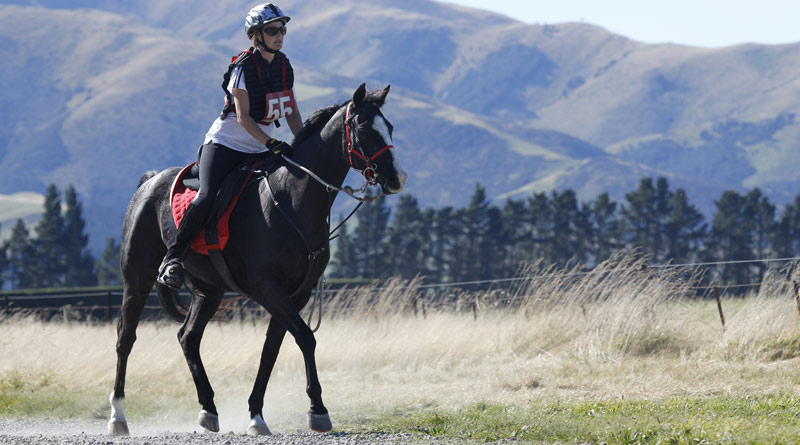 Barack Obama, pictured with Caroline Barber at the 2012 National Endurance Championships in New Zealand.