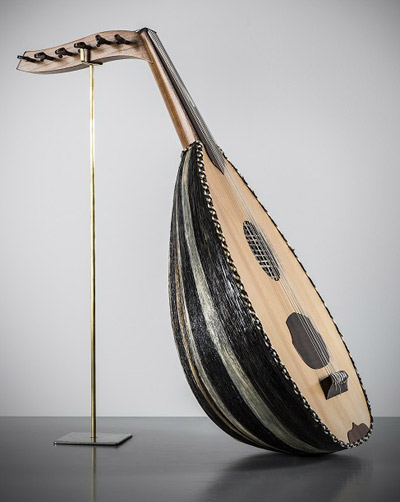 The Oud made with New Zealand horse hair will be played atMiddle East battle sites wherethe New Zealand Mounted Rifles fought.