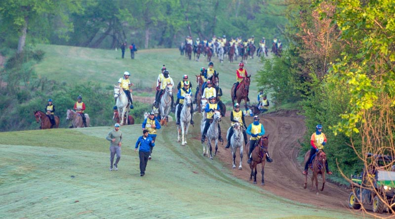An endurance test event took place at the Tryon International Endurance Center in May this year.