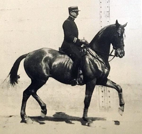 Commandant Wattel, Cavalry School, Saumur.