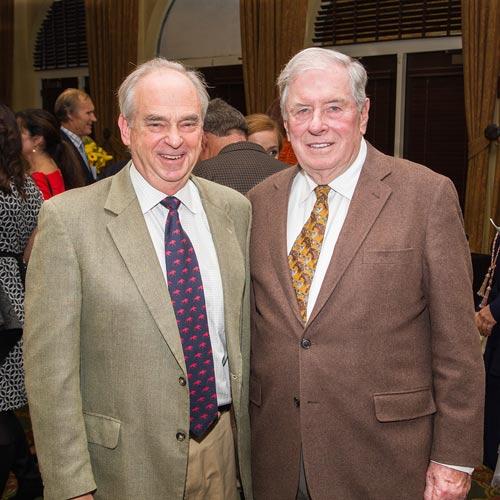 Drs. Doug Antczak (left) and Walter Zent