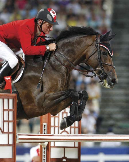 Mac Cone's Olympic horse Ole has died at the age of 22.