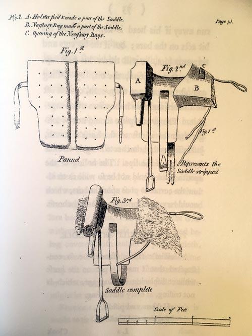 William Tyndale's saddle design.