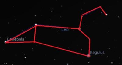 The constellation Leo.