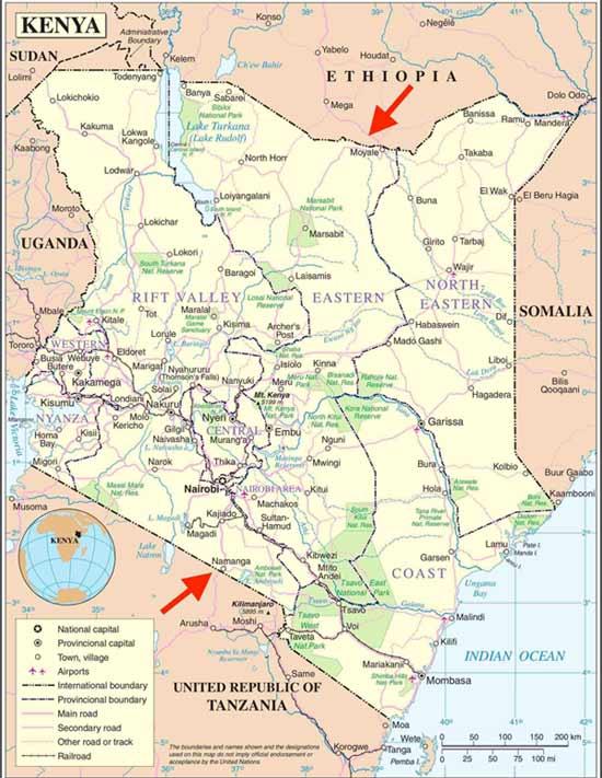 Cross-border trade: Donkeys are smuggled into Kenya from Tanzania via Namanga, and from Ethipio via Moyale