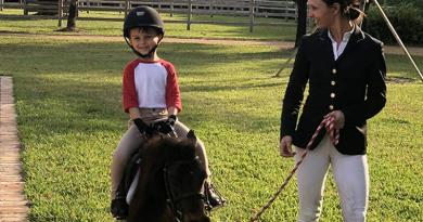 Is tiny Teddy the luckiest pony in the world?