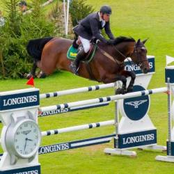 Tim Stockdale competing in the Longines BHS King George V Gold Cup in 2016. © Craig Payne