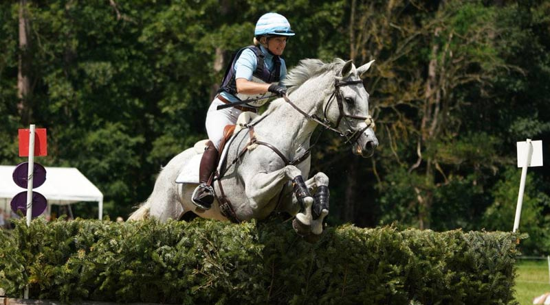 Jonelle Price and Faerie Dianimo finished second the CCI4*-S Arville Event Rider Masters in Belgium.