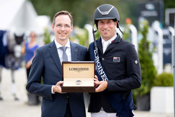 on their agency to winning the Longines CCI Kiwi on fire: Tim Price adds Luhmühlen 5* entitle to trophy haul