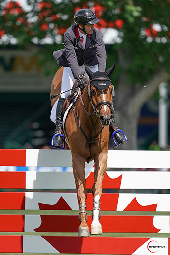 RBC Grand Prix of Canada at Spruce Meadows at the weekend Eric Lamaze claims of import win during encephalon neoplasm battle