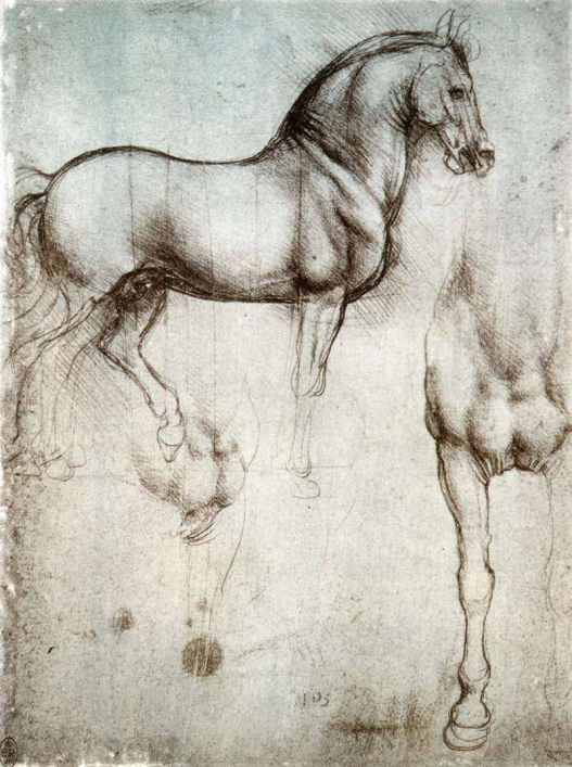 It was intended to survive the largest shape bronze Equus caballus sculpture always Da Vinci wasn't horsing around: He may get got had ADHD, according to experts