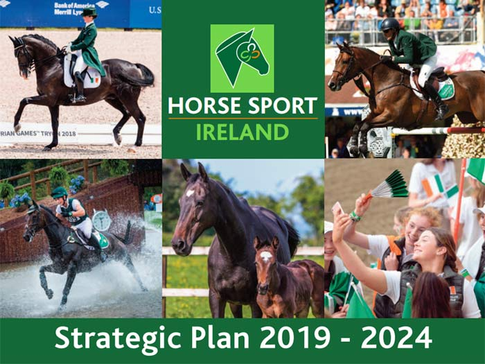 Horse Sport Ireland's Strategic Plan 2019-2024 launched in Dublin this week.
