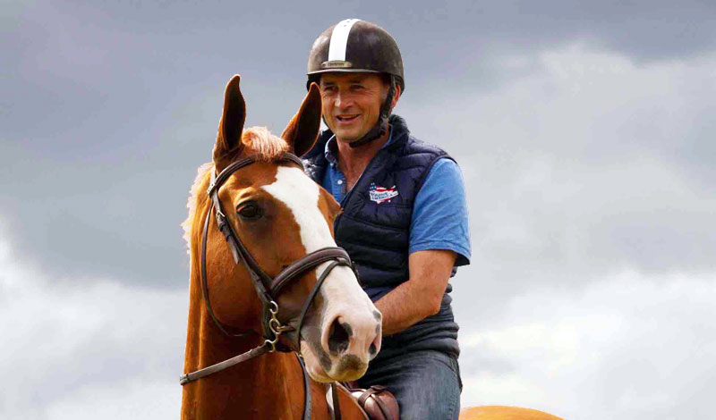 A fundraiser for Rory Gilsenan has been started by Equine America, a British-based supplement manufacturer.