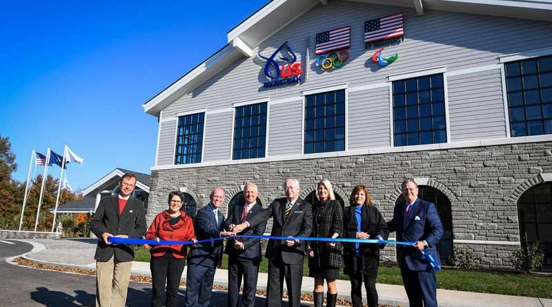 The official ribbon-cutting ceremony of new headquarters of US Equestrian on November 3.