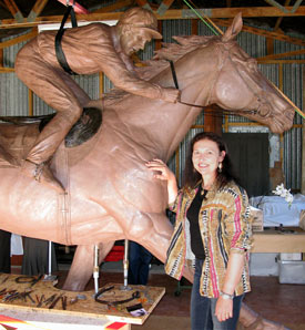 """Joanne Sullivan-Gessler: """"The most important thing is to get it right for Phar Lap, not my ego."""""""