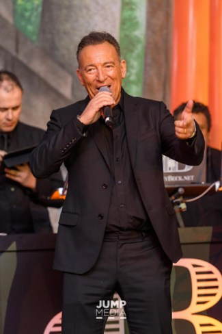 Bruce Springsteen in action at the Take Me To Tokyo gala.
