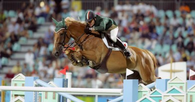 Paralysed showjumper Kevin Babington making progress in rehab
