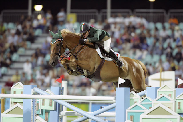 Kevin Babington and Carling King at the 2004 Olympic Games.