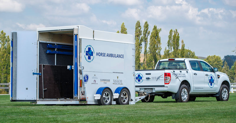 New Zealand's latest equine ambulance is heading north this week.