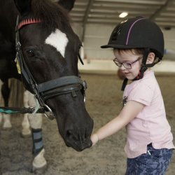 EquiPotential aims to meet the ever-increasing demand for therapeutic riding programmes in New Zealand. © EquiPotential NZ Inc