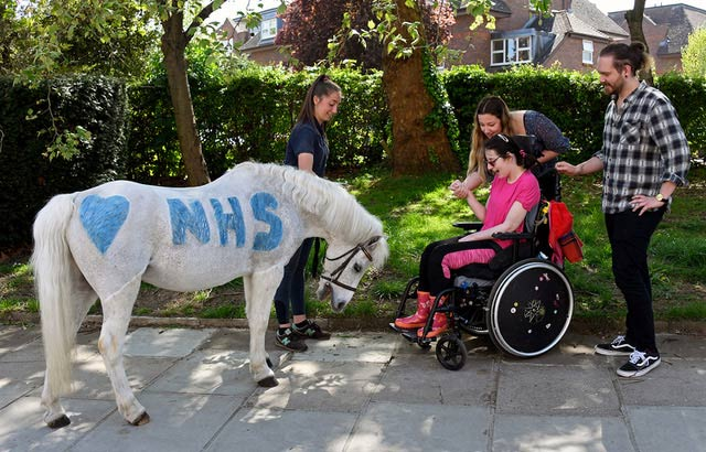 Annie's Whizz and the Park Lane team showed their support for Britain's National Health Service amid the Covid-19 pandemic.
