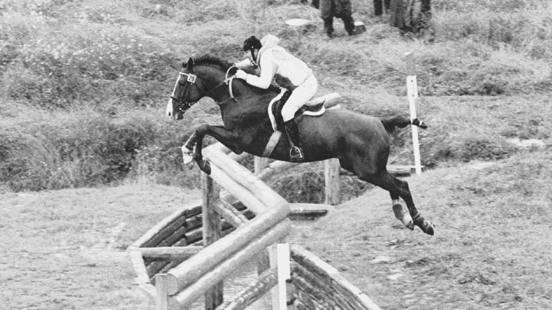 Alexander Blinov and Galzun in action at the 1980 Olympic Games.