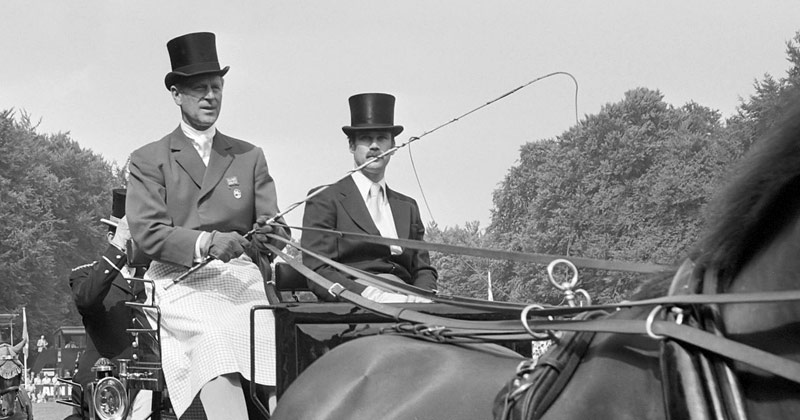 Prince Philip, the Duke of Edinburgh, the longest serving FEI President, has died at the age of 99.
