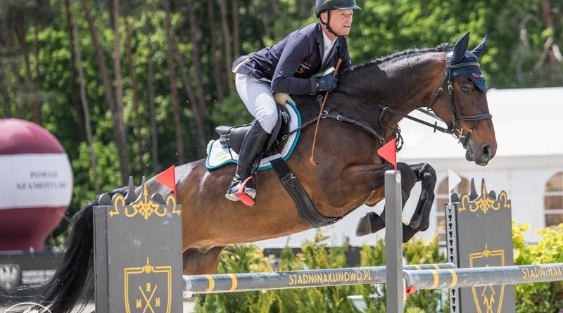 Michael Jung and Fischerchipmunk won the featured CCI4*-S at Baborówko in Poland at the weekend. He was also second on Fischerwild Wave, and won the CCI3*-S on Kilcandra Ocean Power.